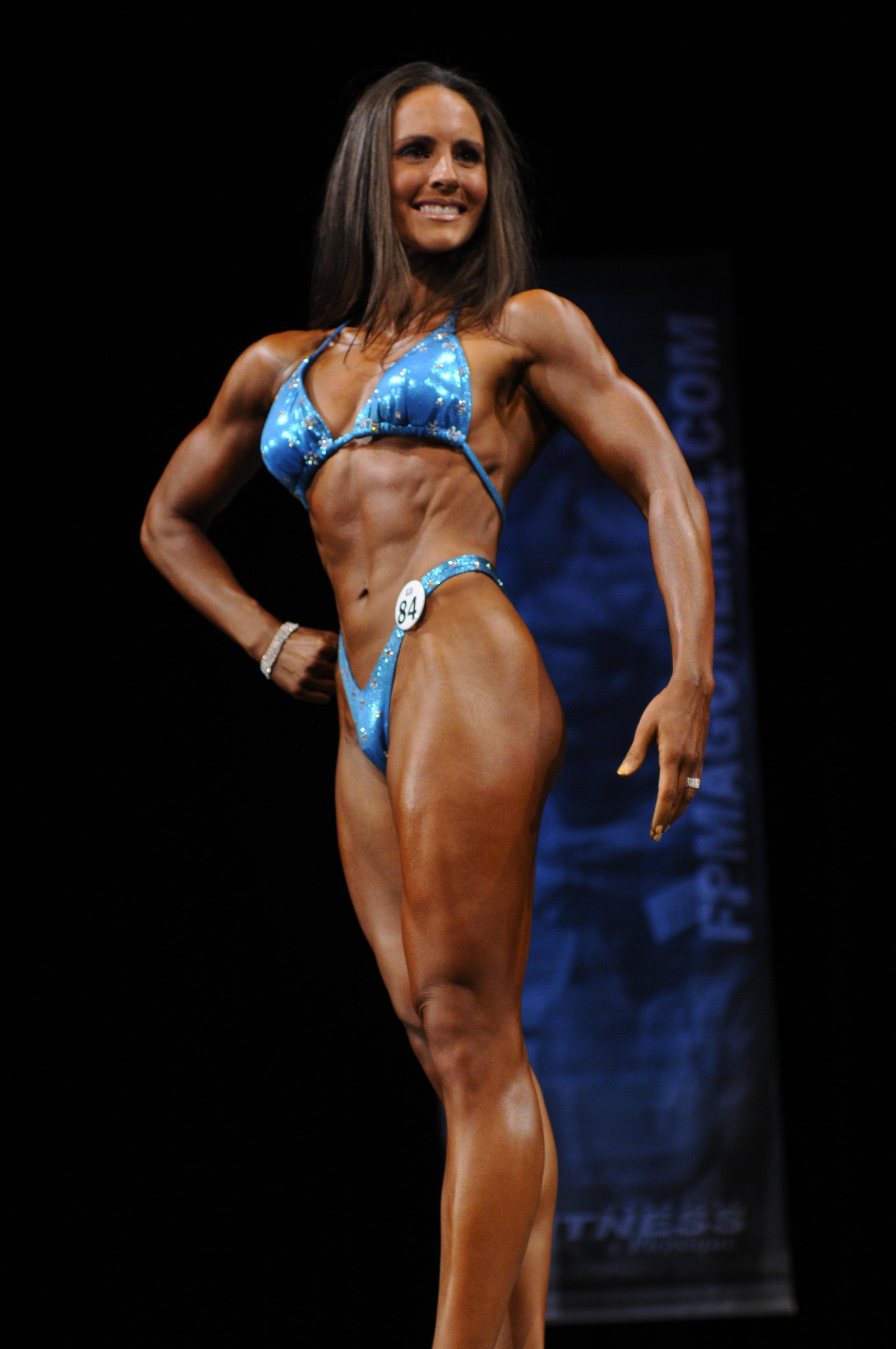 ocb111409dc 01671 Figure is a cross between Women's Bodybuilding and a Bikini model.